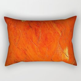 Rustic Orange Home Decor - Comforters - Tapestry - Pillows - Rugs - Shower Curtains Rectangular Pillow