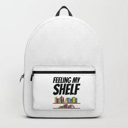 Books - Feeling my shelf Backpack