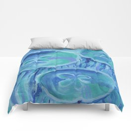 Striated Jelly Moons Comforters