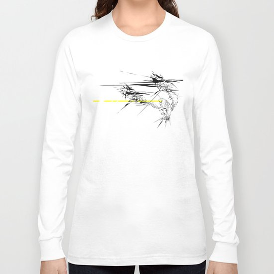 Holy Weapon // (Glitch Owl) Long Sleeve T-shirt