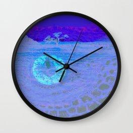 Low Sun Wall Clock