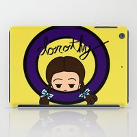 dorothy iPad Cases featuring Dorothy by Nightmare Productions