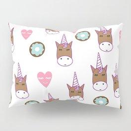 Chocolate Unicorn Pillow Sham