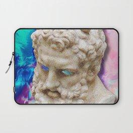 Vaporwave Socrates Aesthetics Laptop Sleeve