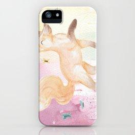 Happy Fox iPhone Case