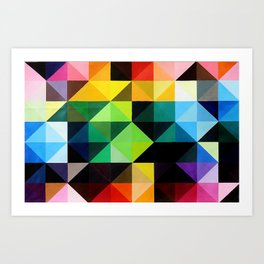 Vivid Order Art Print