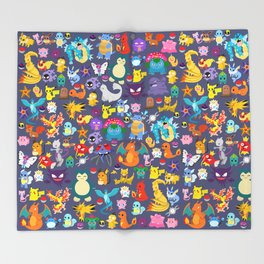 Pocket Collection Throw Blanket