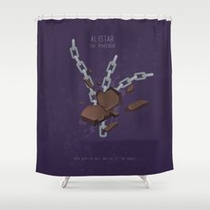 League of Legends: Alistar Shower Curtain