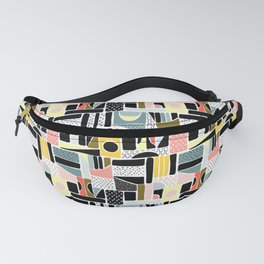 Colorblocking- Hand Drawn Fanny Pack