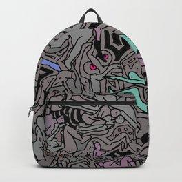 Kamasutra LOVE Doodle - Retro Colors 1 Backpack