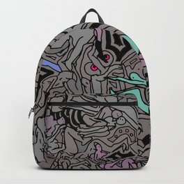 Kamasutra LOVE Doodle - Retro Colors 1 Backpack