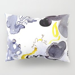 Blue Frenzy Pillow Sham
