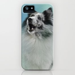 Something To Say iPhone Case