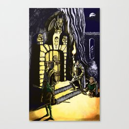 Door to Adventure Canvas Print