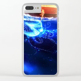 Endless Sea Clear iPhone Case