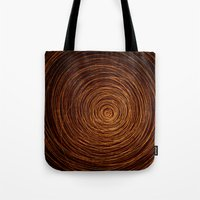 coyote Tote Bags featuring coyote by Pulvis