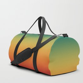 Colorful Trendy Gradient Pattern Duffle Bag