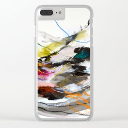 Day 56: Move gently with nature and things will fall into their rightful place. Clear iPhone Case