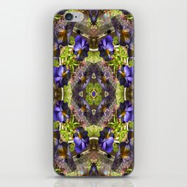 Pansy's on a platter.... iPhone Skin