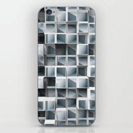 Cubes Within Cubes iPhone Skin