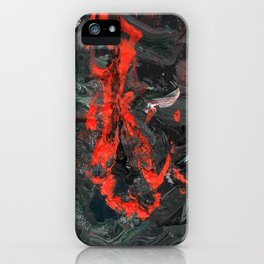Blood Line iPhone Case
