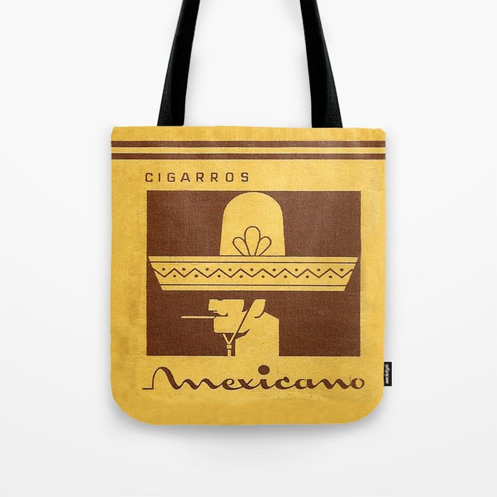 Mexicano - Vintage Cigarette Tote Bag