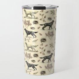 Setters Bird-dog pattern Travel Mug