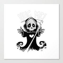 Cute Grim Reaper - Baby Death Wants a Hug! Canvas Print