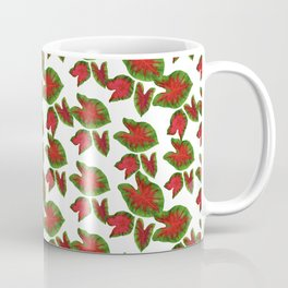 Caladium leaves Coffee Mug