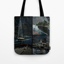 The Neenah in Neon Tote Bag