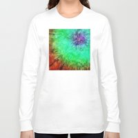 tie dye Long Sleeve T-shirts featuring Vintage Abstract Tie Dye by Phil Perkins