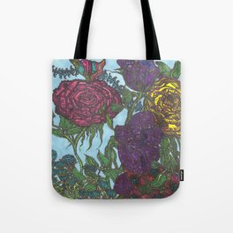 Dad's Magnificent Gardens Tote Bag