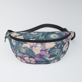 Floral Nights Space Dreams Fanny Pack