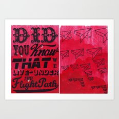 Did You Know.......... Art Print