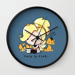 Mercy Is Fine Wall Clock
