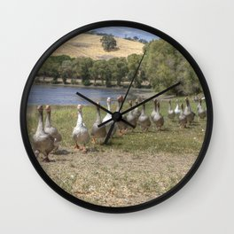 Honk Honk! Wall Clock
