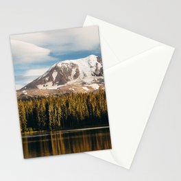 Mount Adams from Takhlakh Lake Stationery Cards