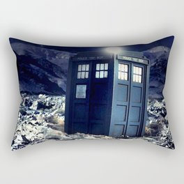 tardis dr who Rectangular Pillow