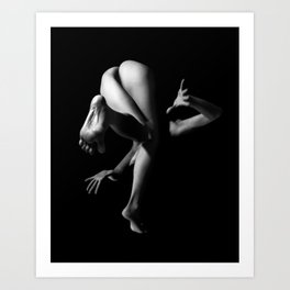 Lost Balance (II) Art Print
