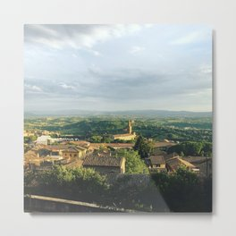 View From Perugia Metal Print