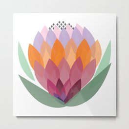 South African King Protea flower Metal Print