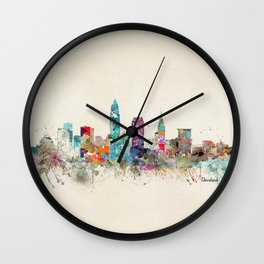 cleveland ohio Wall Clock
