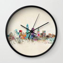 cleveland ohio Wall Clock