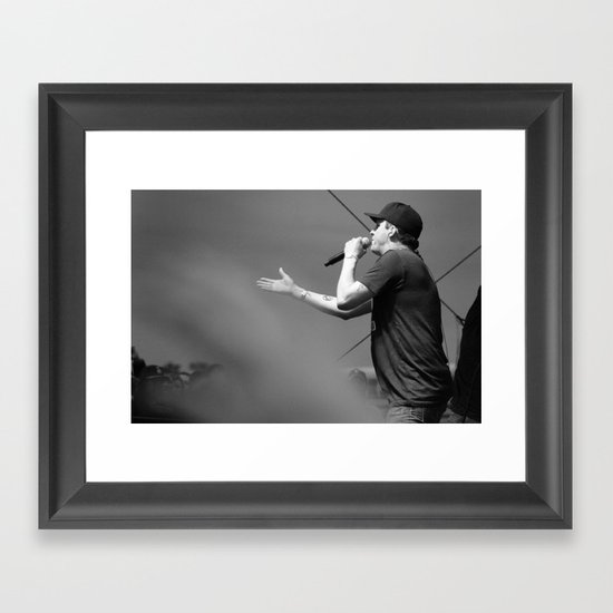Sean Daley -- Atmosphere Framed Art Print