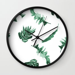 Tropical Twist Wall Clock
