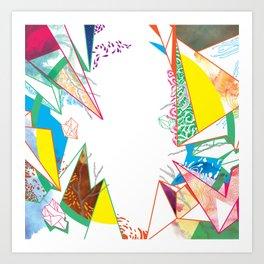 GeometricallyOrganic Art Print