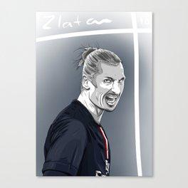 Zlatan Ibrahimovic - PSG Canvas Print