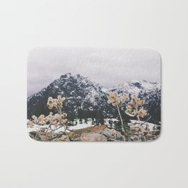 Mountains + Flowers Bath Mat