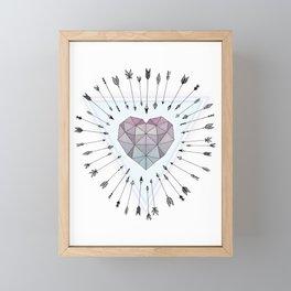 Young & Unafraid Framed Mini Art Print