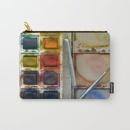 watercolor paintbox Carry-All Pouch